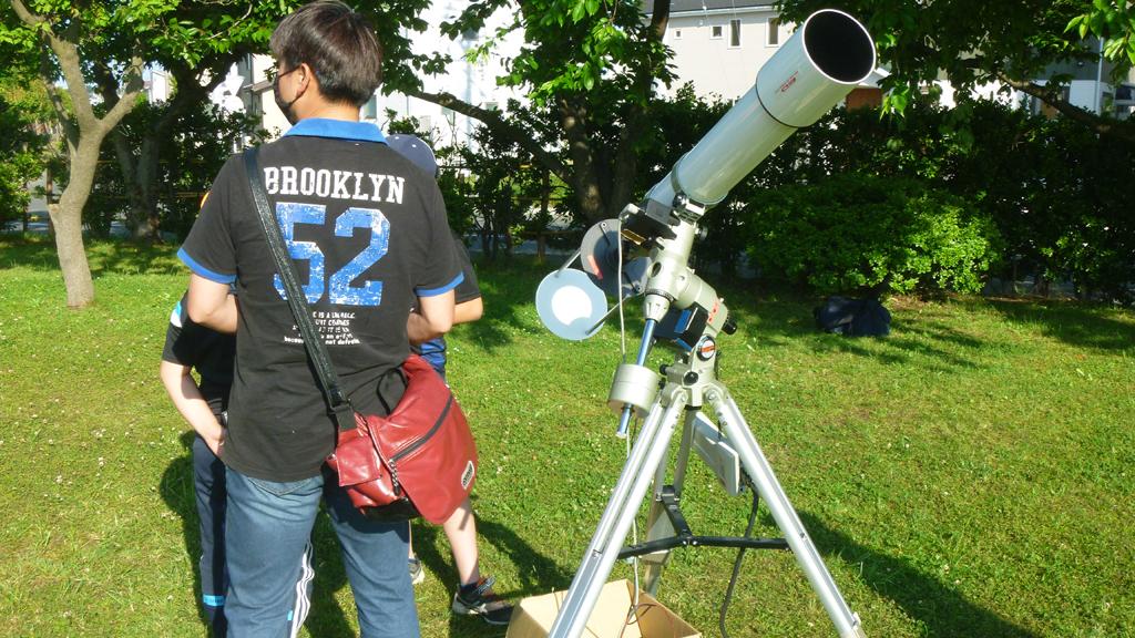 20200621日食観望会2